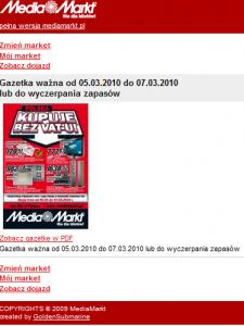 Mobilny serwis m.mediamarkt.pl