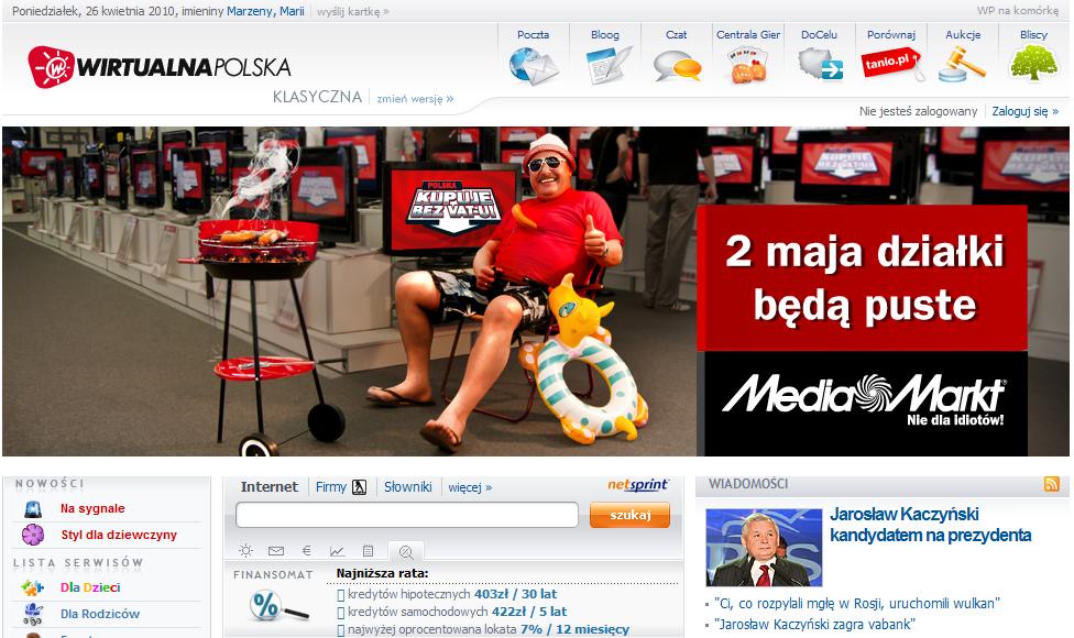 Majówka w Media Markt