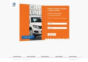 Kampania sprzedażowa Volkswagen CityLine