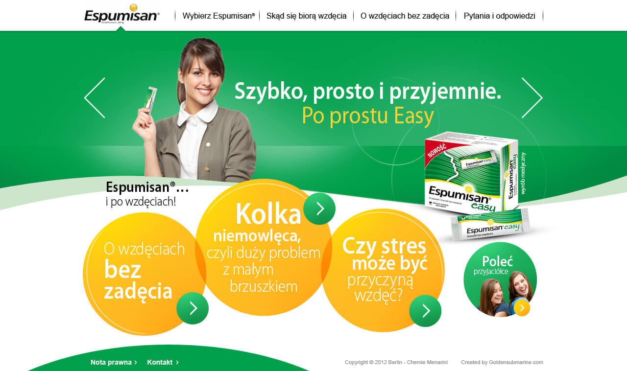 Nowy serwis www.espumisan.pl