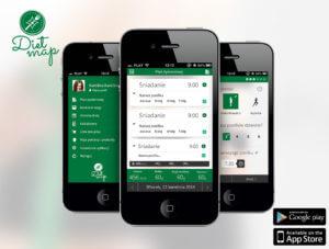 DietMap aplikacja mobilna
