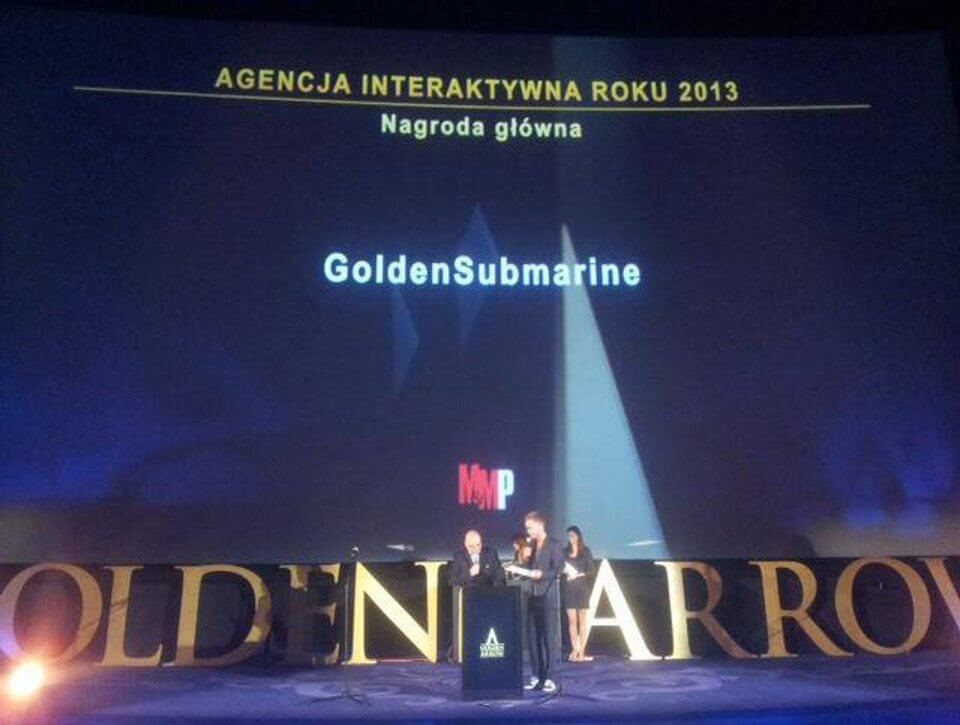 Najlepsza agencja digital? GoldenSubmarine!