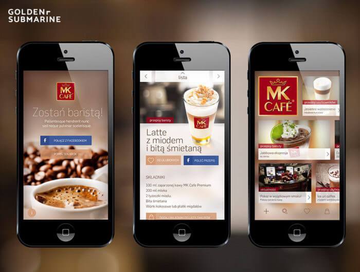 Aplikacja mobilna MK Cafeteria