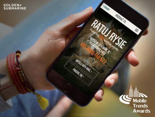 Mobile Trends Awards Poradnik WWF nominowany