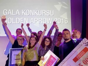 Wyróżnienie w konkursie Golden Arrow