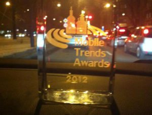 GoldenSubmarine z nagrodą Mobile Trends Awards