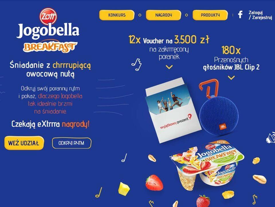 Konkurs Jogobella Breakfast