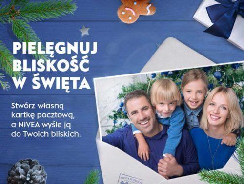 Wyślij drukowanąkartkę na Święta z NIVEA