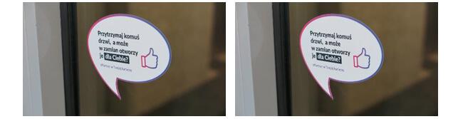Vienna Life - naklejki na drzwi