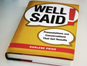 """Well said!"", Darlene Price – recenzja"