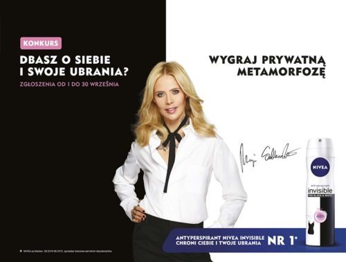 NIVEA INVISIBLE konkurs z Mają Sablewską!