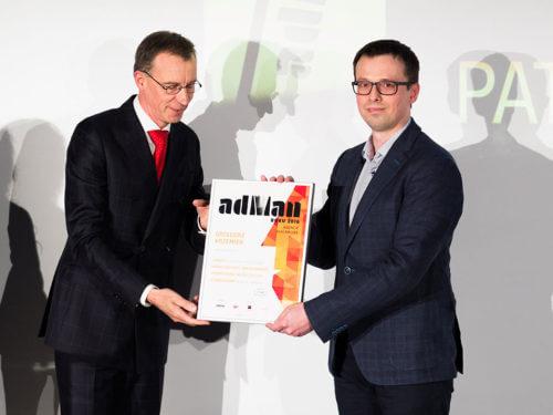 Wyróżnienie AdMan w plebiscycie Press