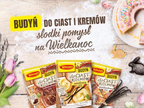 Kampania WINIARY Budyń do ciast i kremów