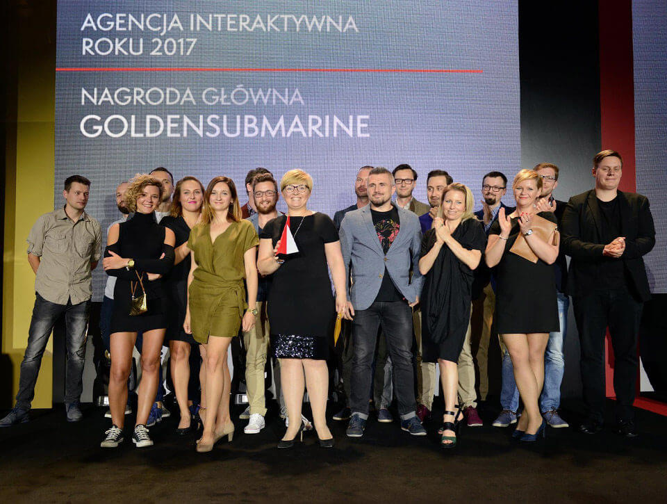 The best interactive agency in Poland? GoldenSubmarine!