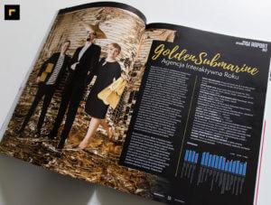 GoldenSubmarine w raporcie agencje interaktywne M&MP