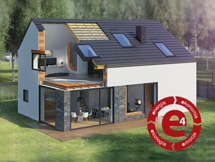 e4 czyli ekologiczne domy Wienerberger