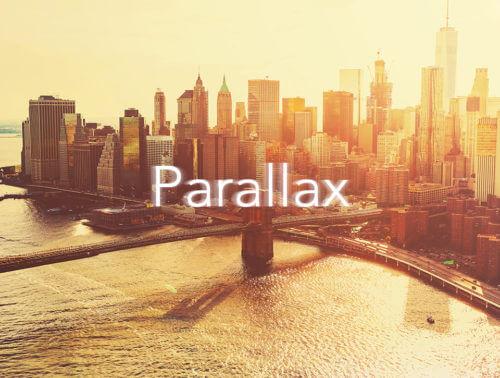 Efekt Parallax na stronie WWW