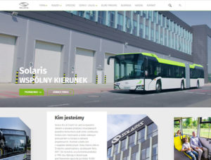 Nowy serwis www Solaris Bus & Coach