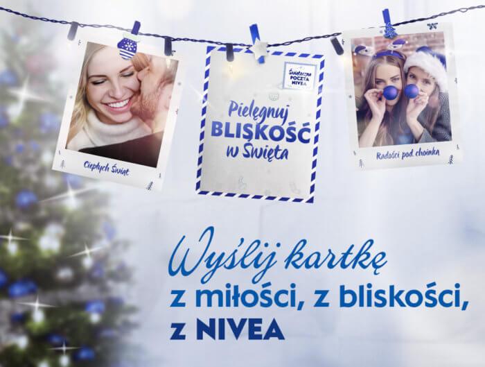 Kartki świąteczne od NIVEA