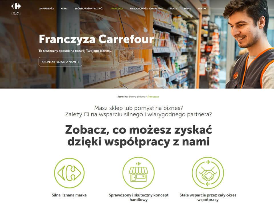 Serwis korporacyjny Carrefoura