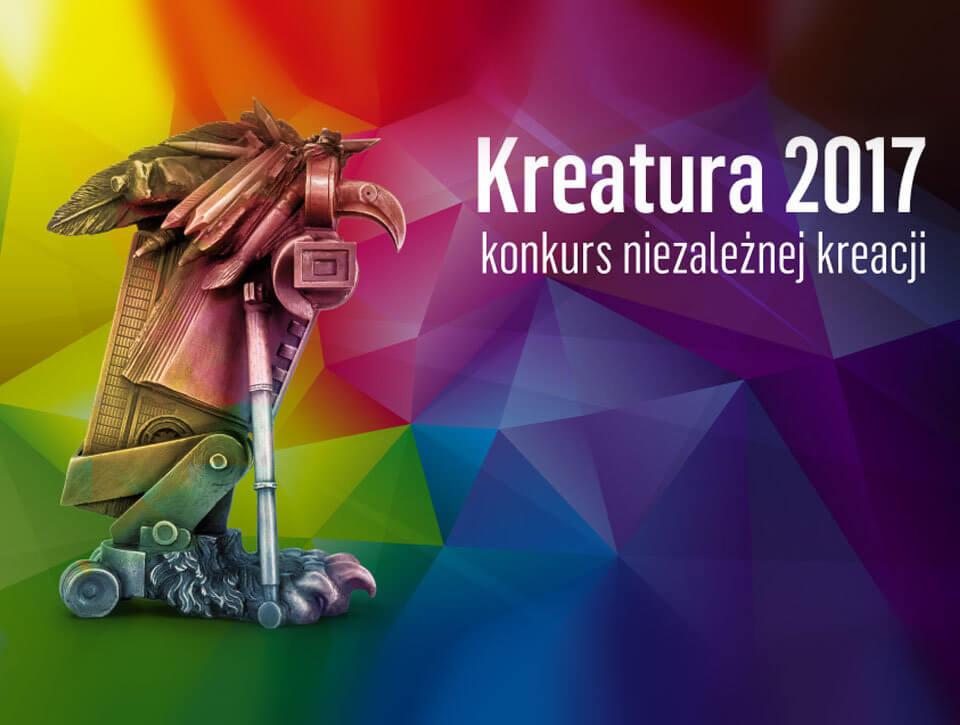 6 nominacji w konkursie Kreatura 2017