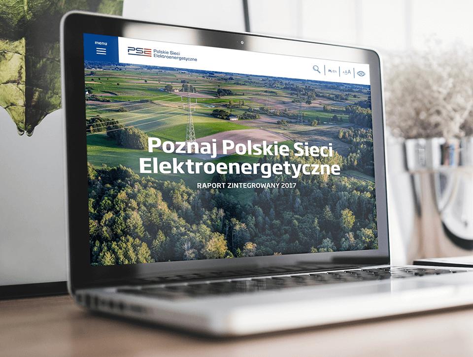 Raport zintegrowany Polskich Sieci Elektroenergetycznych