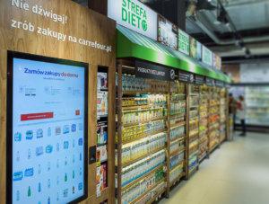 Ekrany Carrefour – innowacyjny pomysł na zakupy
