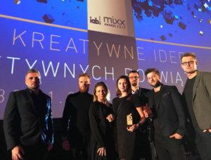 Dwie nagrody na Mixx Awards 2017