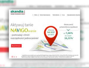 Nowy serwis internetowy Skandia Życie TU S.A.