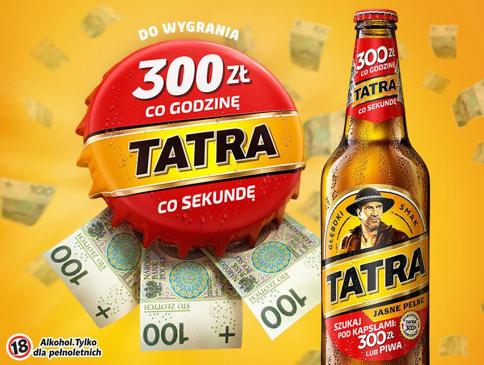 Kampania wspierająca loterię Tatry