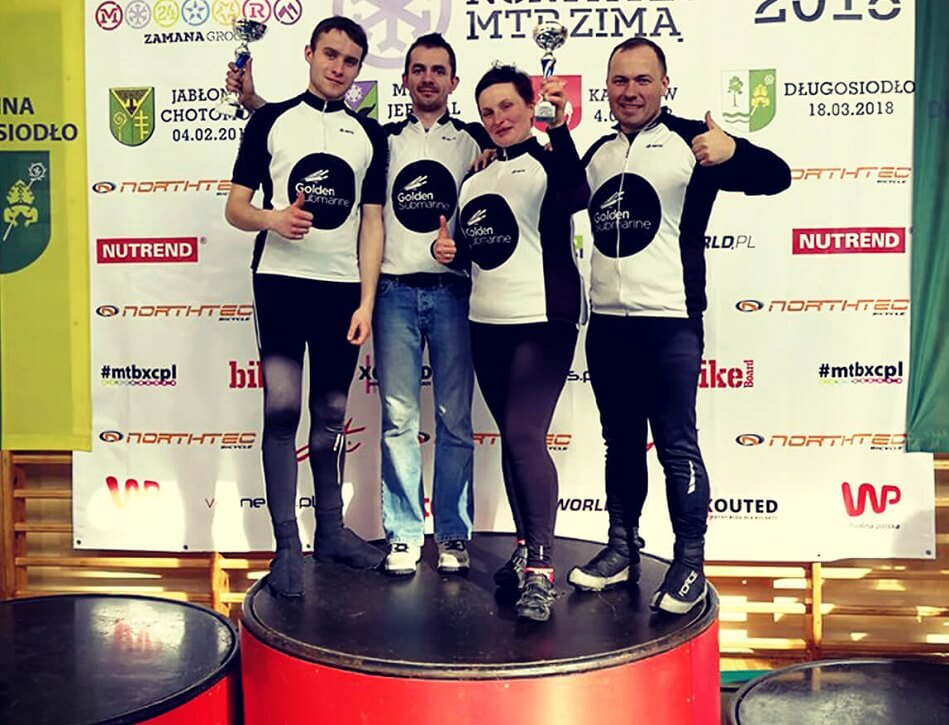 Rowerowy sukces GoldenSubmarine Racing Team