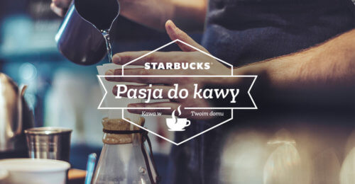 "Kampania Starbucks ""Pasja do kawy"""