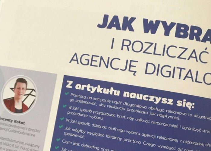 Jak wybrać i rozliczać agencję digitalową?