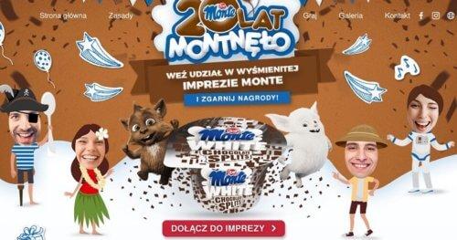 20 lat marki Monte – kampania reklamowa