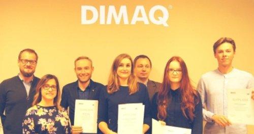 Laureaci konkursu DIMAQ UNI