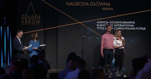Nagroda główna Golden Arrow 2021 w kategorii design!