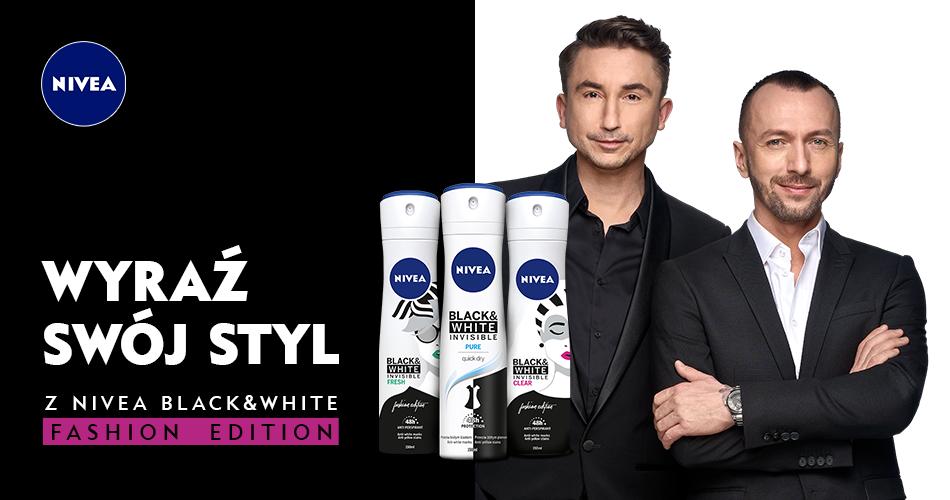 Wyraź swój styl z NIVEA Black&White Fashion Edition