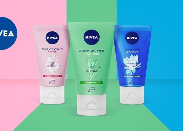 Żele do mycia twarzy NIVEA? Jesteśmy na TAK!