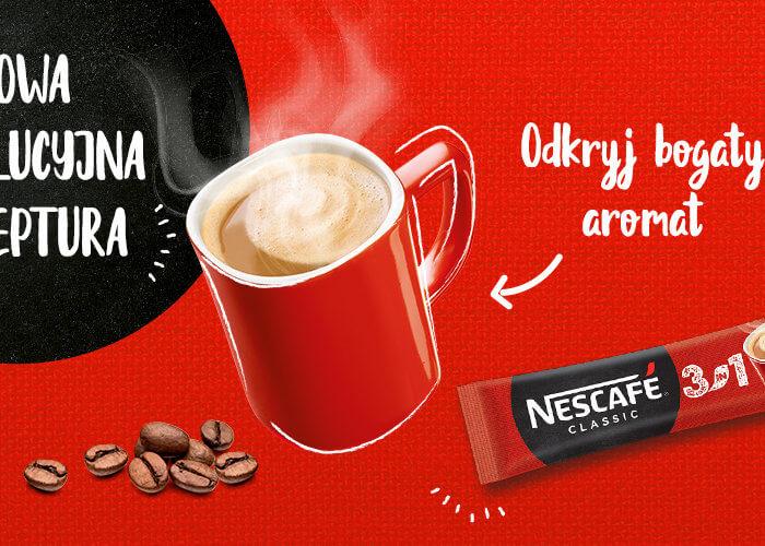 """""""Zamieszaj i ogarniaj"""" – kampania Nescafe 3in1"""