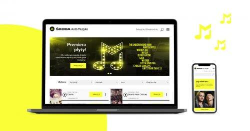 Serwis www ŠKODA Auto Muzyka