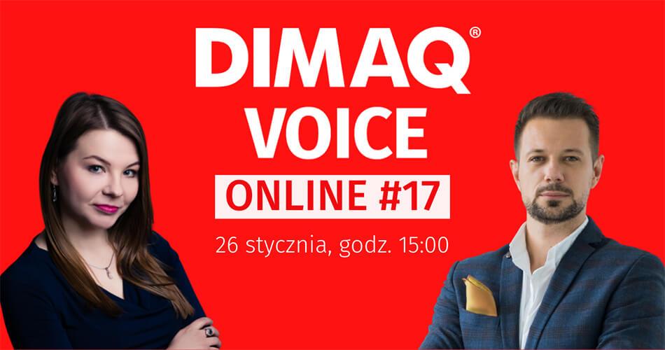 Pierwszy DIMAQ Voice Online w nowym roku już 26 stycznia.