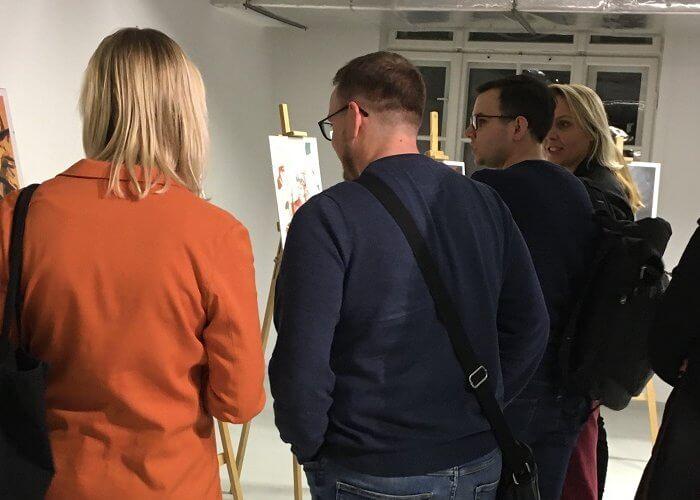 ZłotyKalendarz: finisaż wystawy grafik