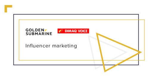 Influencer w kampanii reklamowej