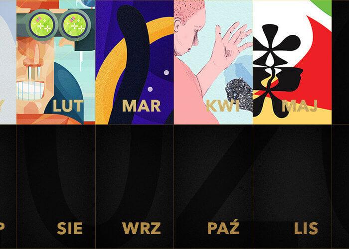 ZłotyKalendarz 2020: grafika na maj