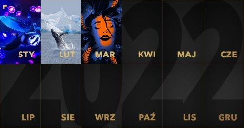 ZłotyKalendarz 2022: marzec