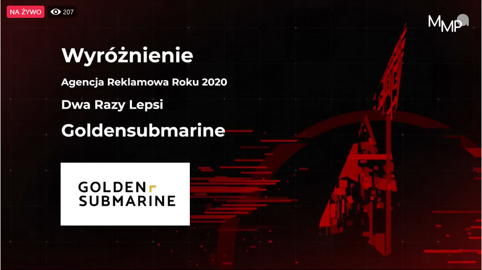 GoldenSubmarine - dwa razy lepsi