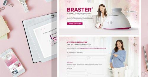 Sklep Braster i kampania reklamowa