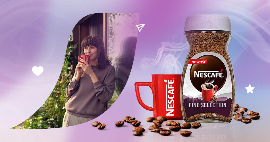 Wprowadzenie na rynek kawy NESCAFÉ Fine Selection