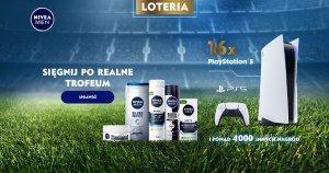 Sięgnij po realne trofeum w loterii NIVEA MEN