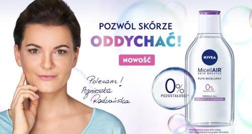 Agnieszka Radwańska w reklamie NIVEA